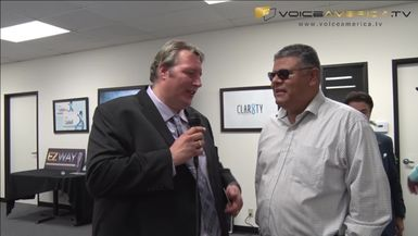CEO Jeff Spenard interviews Jose Beltran from WPS events