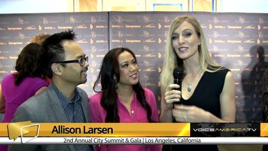 Allison Larsen Interviews Rachelle Caco at the City Summit