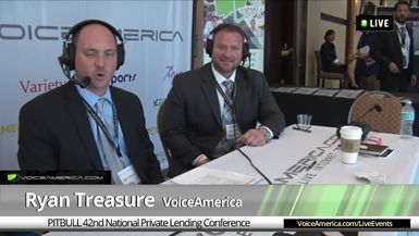 Brent Carlson at the 42nd National Hard Money Conference Live Broadcast