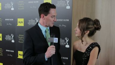 Haley Pulos and Dan Kroll at the 2012 Daytime Emmys
