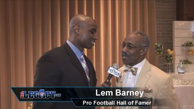 Lem Barney, Hall of Fame