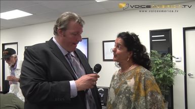 CEO Jeff Spenard interviews Lori Boody, Director for American Cancer Society Relay For Life San Diego