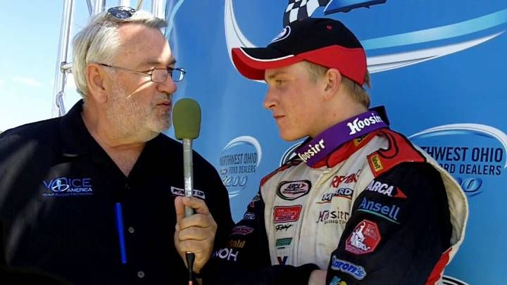 Chris Buescher wins NW Ohio Ford Dealers ARCA 200