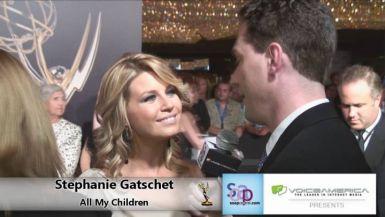 Stephanie Gatschet on the Red Carpet 2011