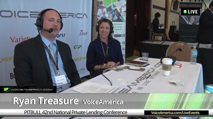 Kendra Rommel at the 42nd National Hard Money Conference Live Broadcast