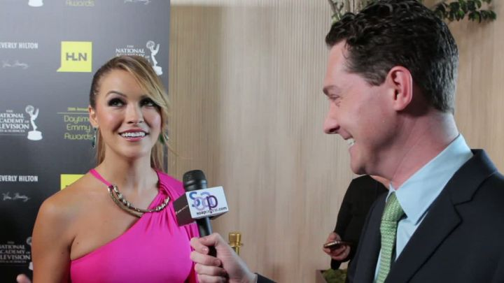 2012 Red Carpet with Dan Kroll and Chrishell Stause at the Daytime Emmys