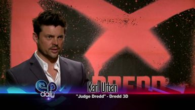 September 12 - Karl Urban on Dredd, Y: The Last Man