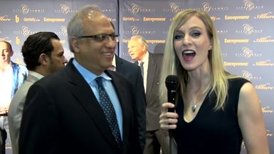 Allison Larsen Interviews Dr AJ Jain at the City Summit