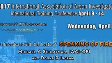 Speaking of Fire interviews Gary Thorstenson and Trace Lawless Live at IAAI training Conference