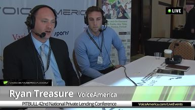 Steve Buric at the 42nd National Hard Money Conference Live Broadcast