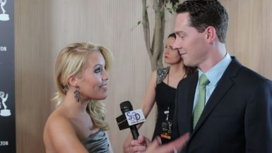 Kristen Alderson at the 2012 Daytime Emmys