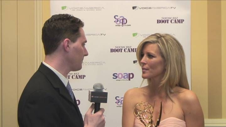Laura Wright Backstage