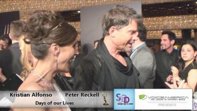 Kristian Alfonso and Peter Reckell Red Carpet