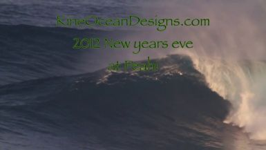 New Years Eve 2012 Peahi Pt1