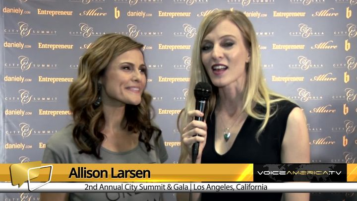 Allison Larsen Interviews Christy Dreiling at the City Summit