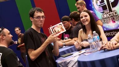 On the Floor of Fan Expo 2012