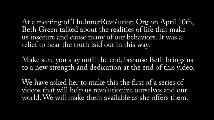 A Call to Revolution: Trapped in a World of Insecurity & Money, But We Can Break Out!