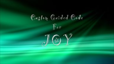 Custom Guided Code for Joy