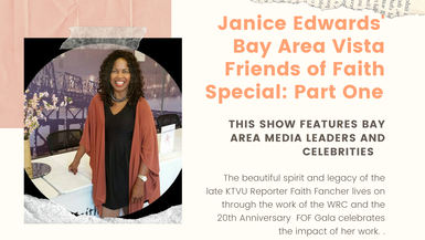 Janice Edwards' Bay Area Vista Friends of Faith Gala Part 1