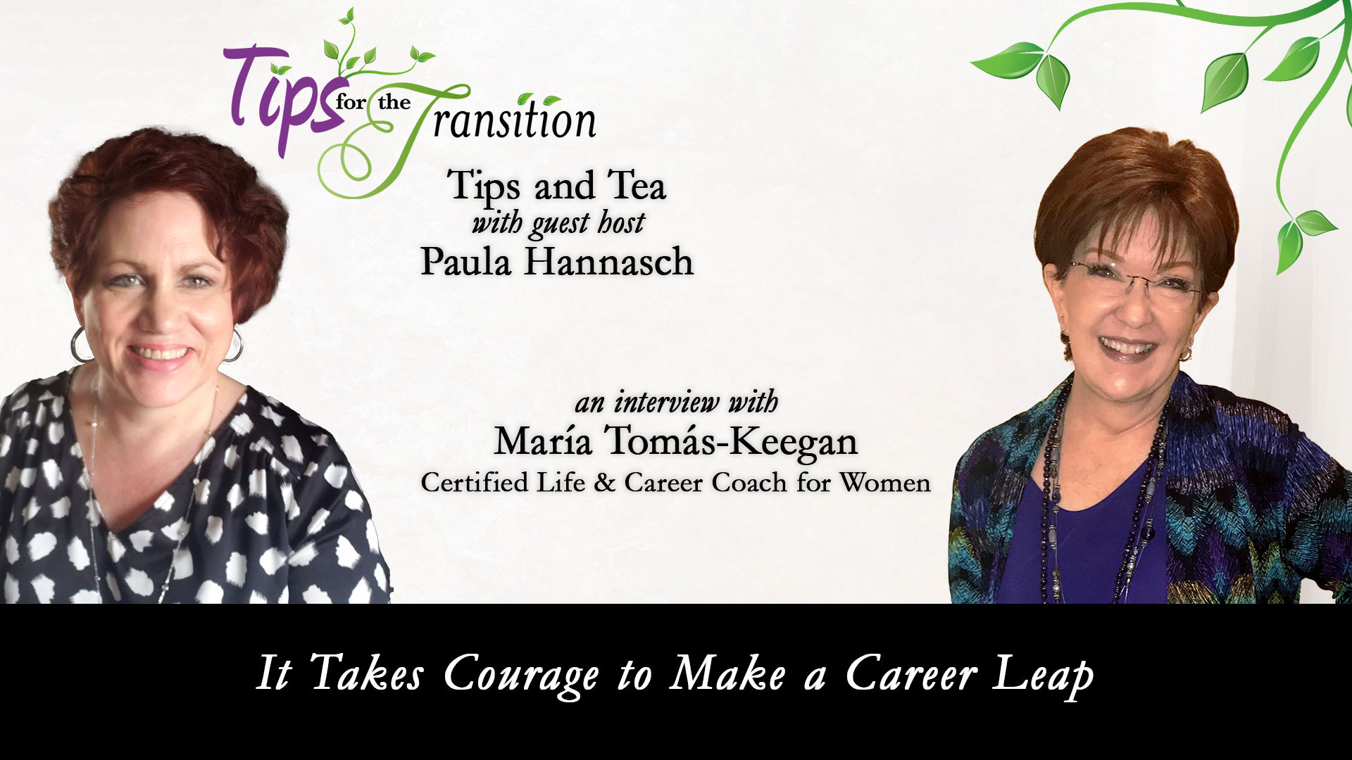 It Takes Courage to Make a Career Leap