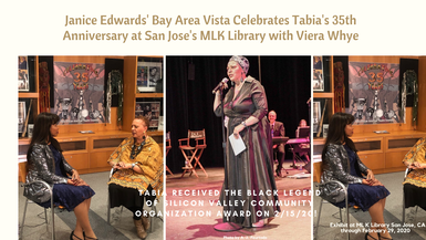 Janice Edwards' Bay Area Vista Celebrates Tabia's 35th Anniversary
