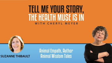 Tell Me Your Story Suzanne Thibault, Pet Empath