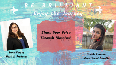 Share Your Voice Through Blogging