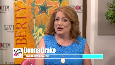 Live It Up with Donna Drake and Author and Filmmaker, Mary Ann Koenig