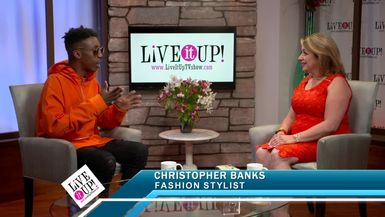 Live it Up with Donna Drake welcomes Fashion Stylist Chris Banks