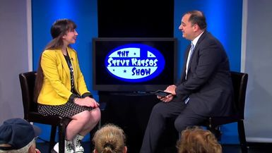 Pavlina Osta appears on The Steve Katsos Show