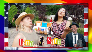 """SaraLena: """"LiVE!"""" EP. 102 - July 4th Summer Special!"""