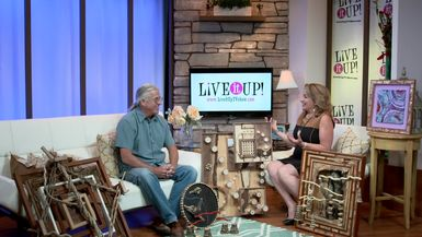 Michael Braceland Smith, Abstract Constructionist, on Live it Up with Donna Drake
