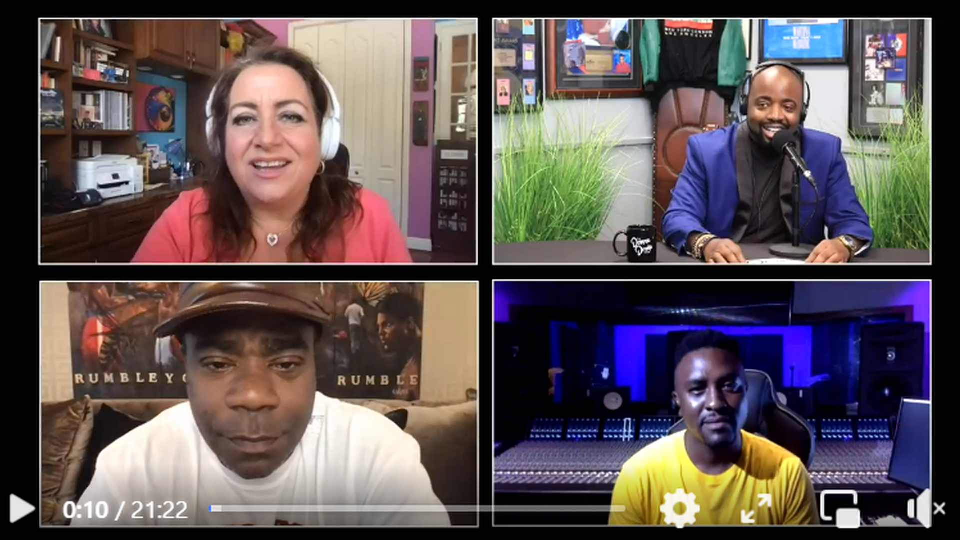 The Donna Drake Show with Tracy Morgan, Mark MK and B. Hawk