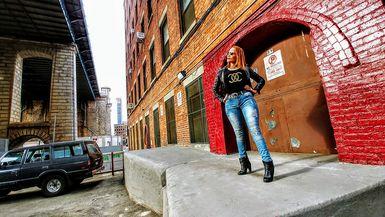 Blue Jeans & Leather Jacket (Promo)