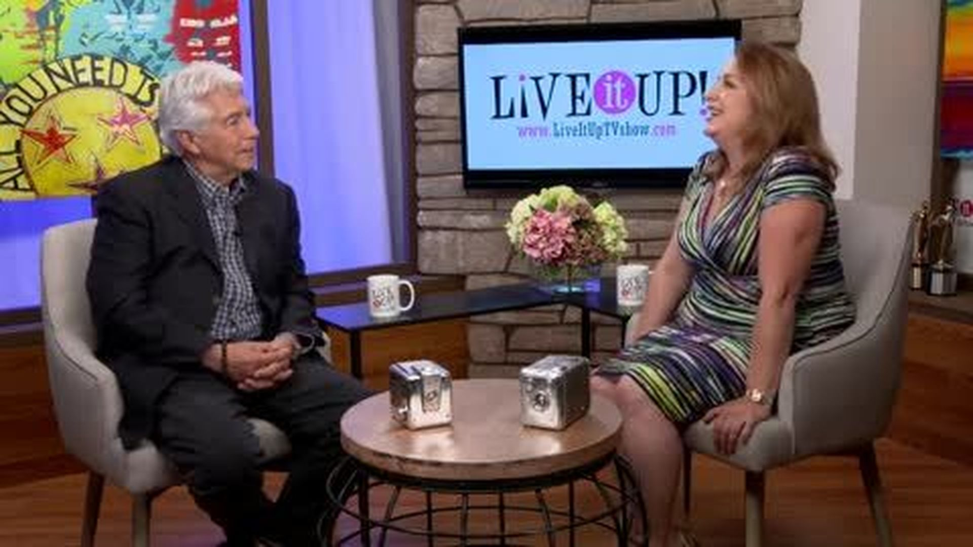 Live it Up with Donna Drake and Guest Lou Vaccarelli.  A playful twist on his Music Exec. Days