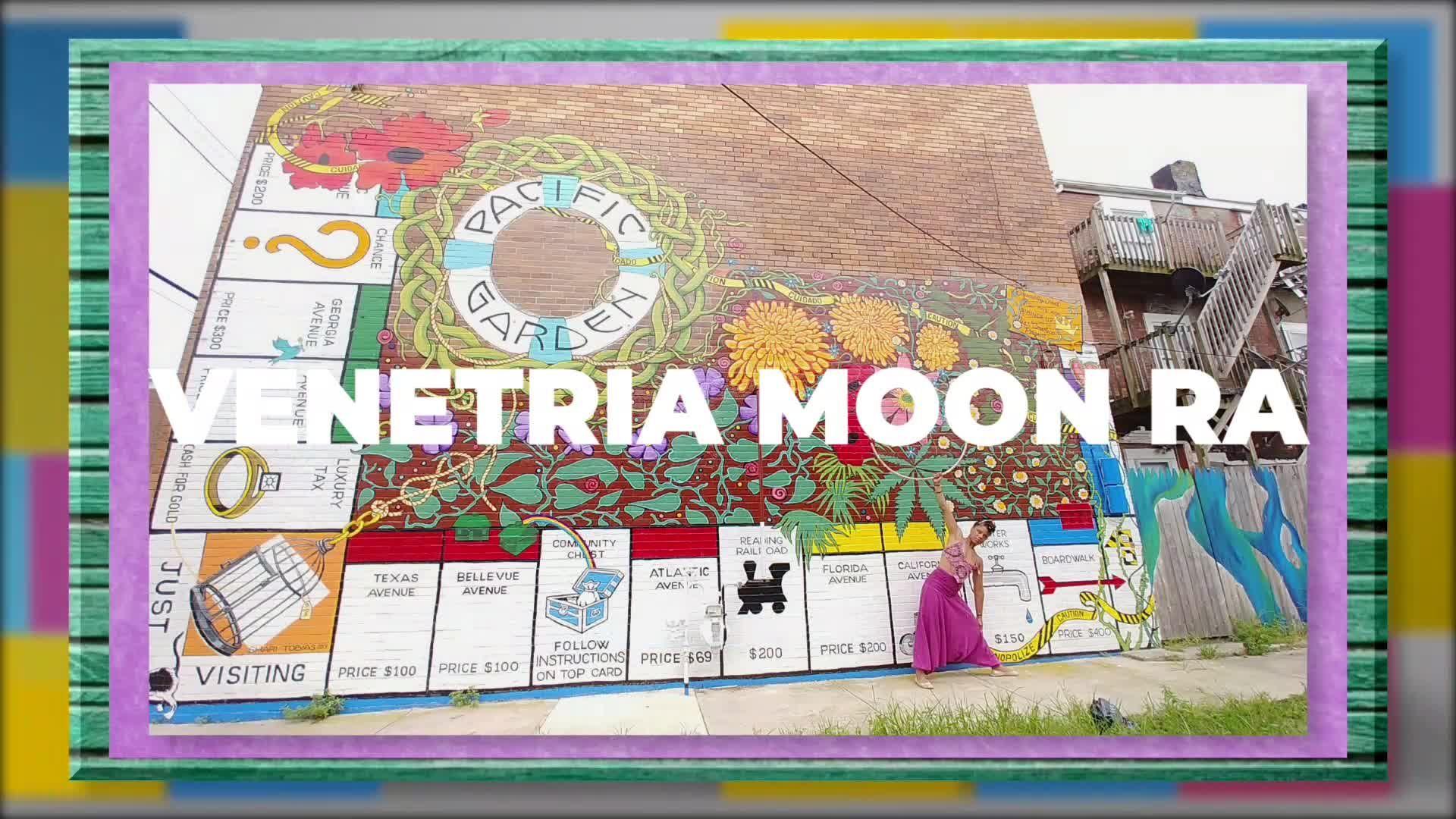 VENETRIA MOON RA: HulaRoots Music Video