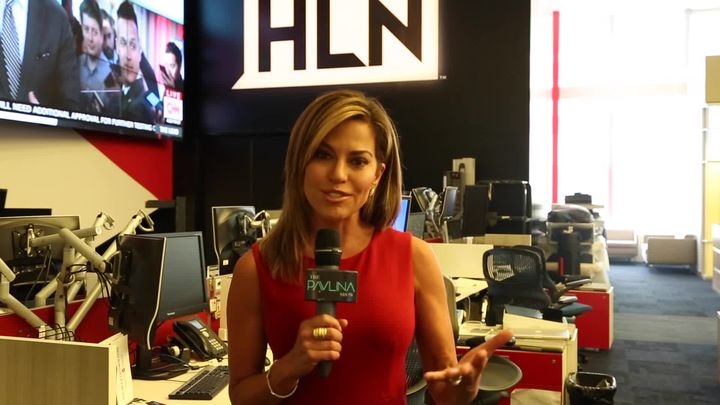 ROBIN MEADE Interview w/PAVLINA talks HLN Morning Express, Skydiving & More!