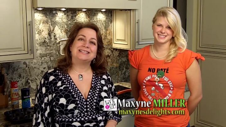 Live it Up! TV Show: Maxyne Miller