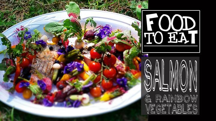 Atlantic Salmon & Rainbow Vegetables