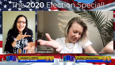 "SaraLena: ""LiVE!"" EP. 105 - 2020 Election Special (Promo)"