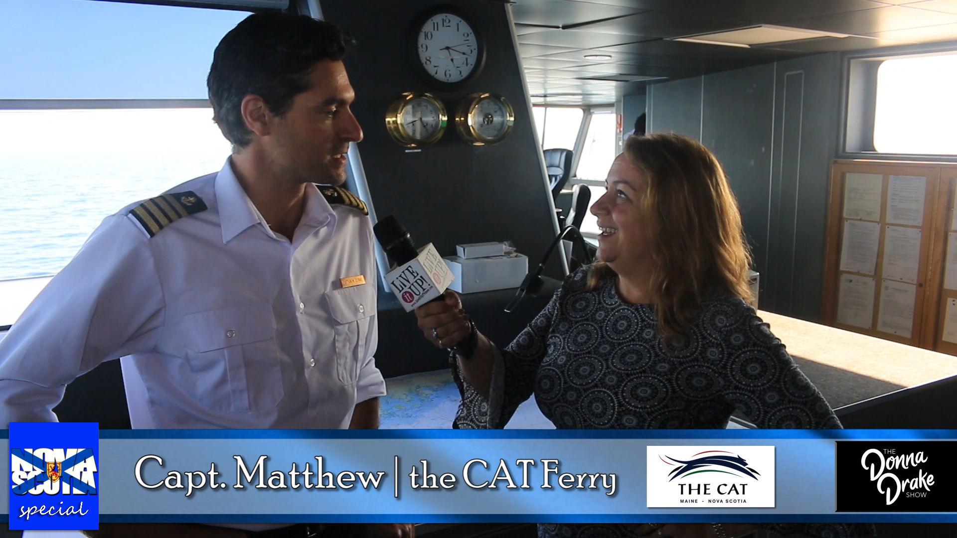 NOVA SCOTIA Travel Special - The CAT Ferry: Portland to Nova Scotia