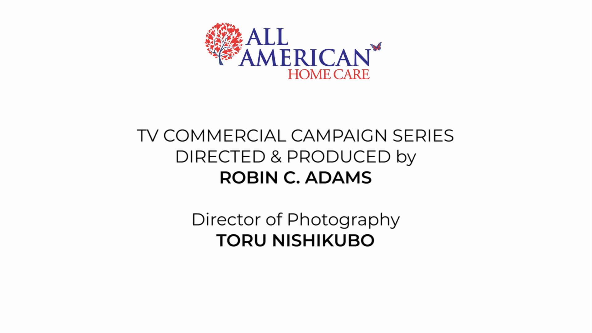 All American Home Care TV Campaign Series