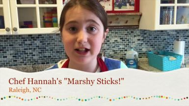 Chef Hannah's Marshy Sticks