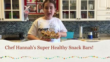 Chef Hannah's Snack Bars