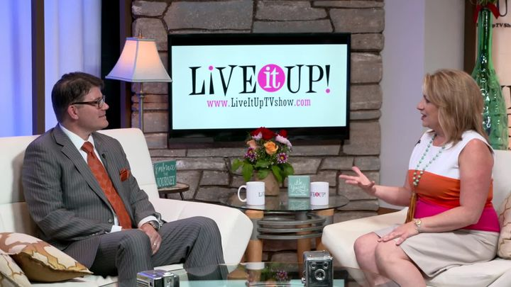 Keith Kebe Super Man on Live it Up! with Donna Drake