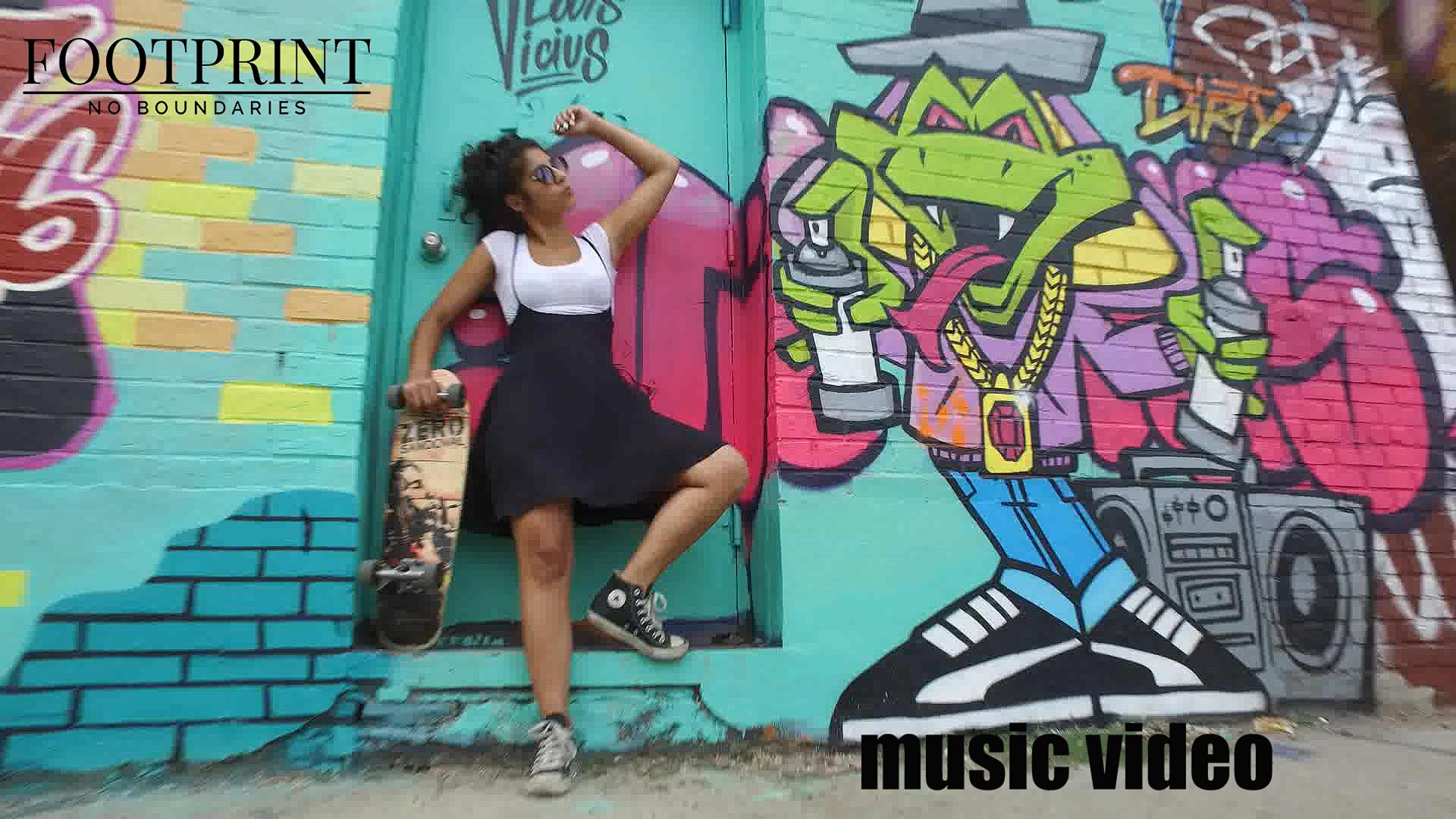 SEREENA GREENE: behind the scenes - music video promo