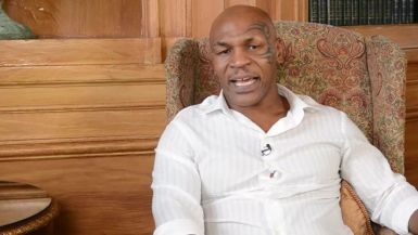 Mike Tyson Interview at the Big Daddy Fundraiser