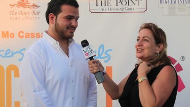 Sal Valentinetti and Donna Drake Live it Up at Sneakers and Sandals Beach Ball