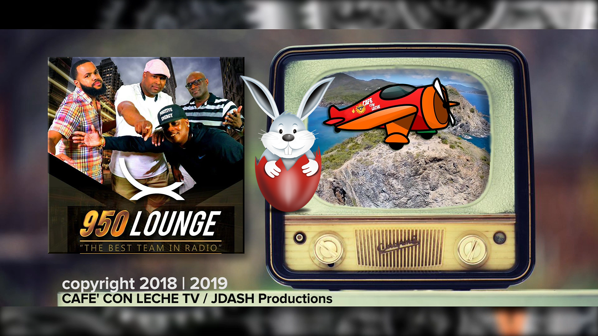 Cafe Con Leche Ep.306 EASTER SPECIAL @950 Lounge Radio