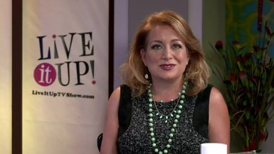 Live it Up! with Donna Drake  Hair Dresser Roseanna Amador